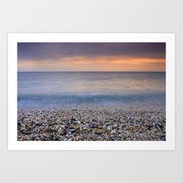 """Serenity sea"". Calm days at the sea Art Print"