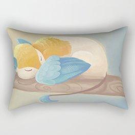Morning Nap Rectangular Pillow
