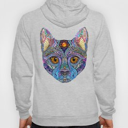 Mystic Psychedelic Cat Hoody