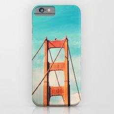 Retro Golden Gate - San Francisco, California iPhone 6s Slim Case