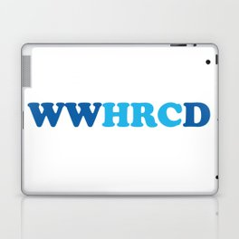 What Would Hillary Do (Blue & Blue) Laptop & iPad Skin