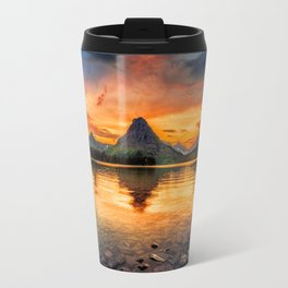 Glacier National Park Travel Mug