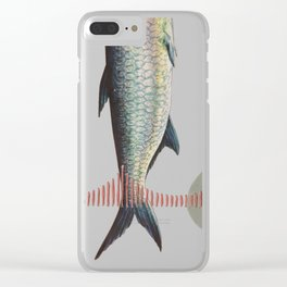 Golden Gate Fish Clear iPhone Case