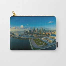 Miami, Florida Panorama Carry-All Pouch