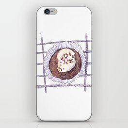 Chocolate Overload Cupcake iPhone Skin