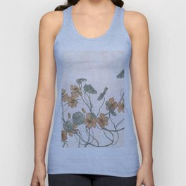Winding flowers Unisex Tank Top