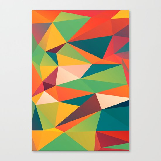 Geometric XIII Canvas Print