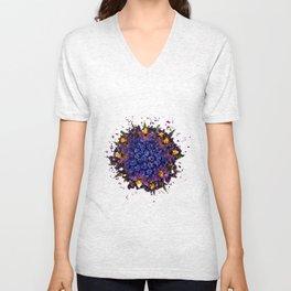 Meshed Up Pollen Ball Unisex V-Neck