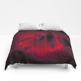 Red Hot Glow Comforters