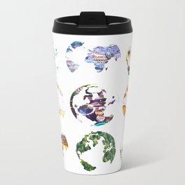 Globes Metal Travel Mug