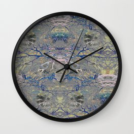 Funky fresh interior and fashion prints Wall Clock
