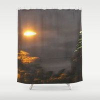 atlanta Shower Curtains featuring Atlanta Underwater by Freda Gay Collections