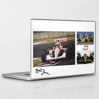 senna Laptop & iPad Skins featuring Senna by Rassva