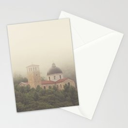 Fog Over The Shrine Stationery Cards