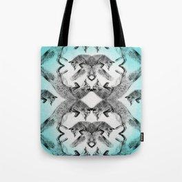 Wallpaper Jumping Fox Tote Bag