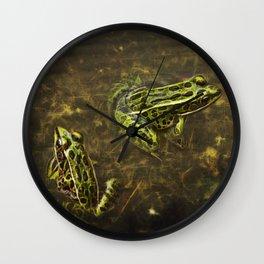 Being Green Wall Clock