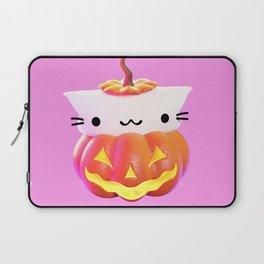 Pumpkin Cat Laptop Sleeve