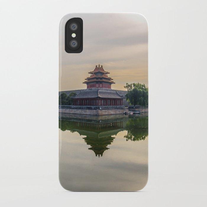 Forbidden City moat iPhone Case