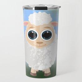 White Sheep Travel Mug