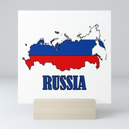 russia Mini Art Print