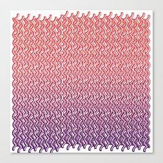 Knit Pattern 02 Canvas Print