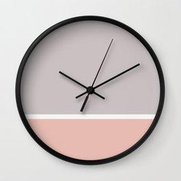 Color Block Wall Clock