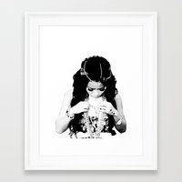 cocaine Framed Art Prints featuring Honey Cocaine by Kris.