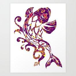 OSA STYLE FISH Art Print