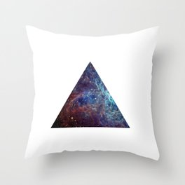 Biggest Hipster in all Cosmos Throw Pillow