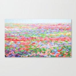 Carillon Blooms Canvas Print