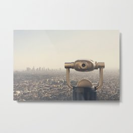 The View: City of Angels Metal Print