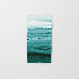 WITHIN THE TIDES - OCEAN TEAL Hand & Bath Towel