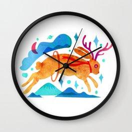 The Jackalopes Wall Clock