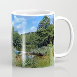 At the fairytale pond | waterscape photography Coffee Mug