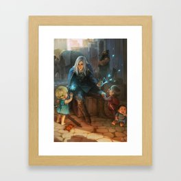 The Man of Armadon Framed Art Print