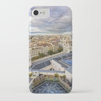 real madrid iPhone & iPod Cases featuring Madrid by Solar Designs