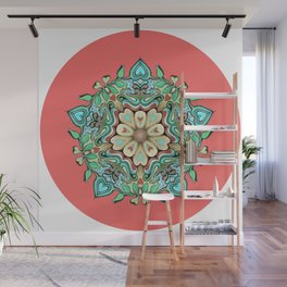 Happy pattern Wall Mural