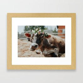Sparky Framed Art Print