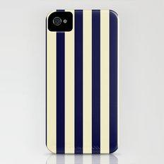 Navy Stripes iPhone (4, 4s) Slim Case