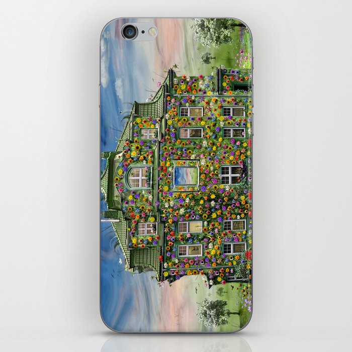 The Flowerhouse iPhone Skin