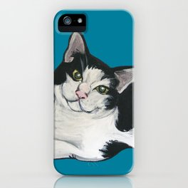 "Achilles the ""Cat From Hell"" iPhone Case"
