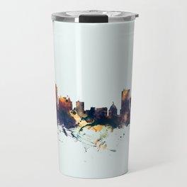 Winnipeg Canada Skyline Travel Mug