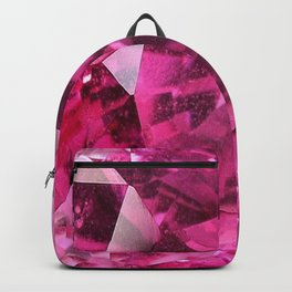 OCTOBER PINK SAPPHIRE BIRTHSTONE GEMS Backpack