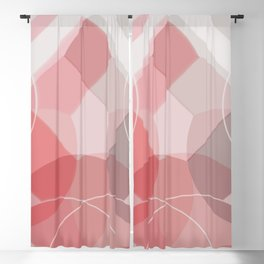 Scandinavian Abstract Bottles Blackout Curtain