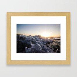 Carp n' Foam Framed Art Print