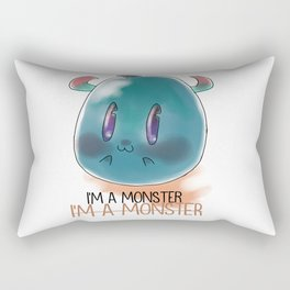 I'M A MONSTER Rectangular Pillow