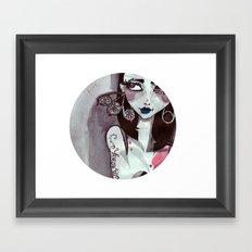 I get it round. Framed Art Print