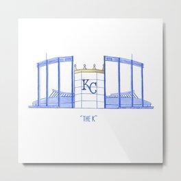 Kauffman Stadium Metal Print