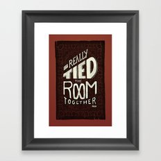 The Rug Framed Art Print