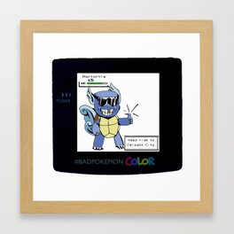 #badpokemon Pocket Monster needs ride to Celadon city Framed Art Print